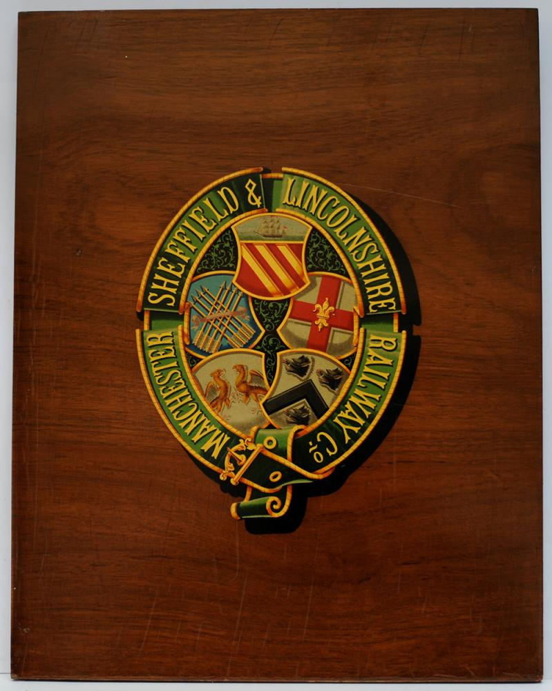 MSL Mounted CREST. The Company COAT OF ARMS