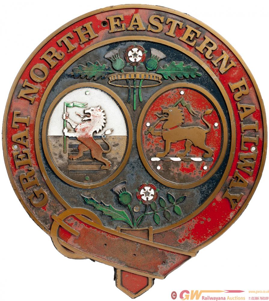 GNER Cast Brass Crest As Fitted To Some Of Their