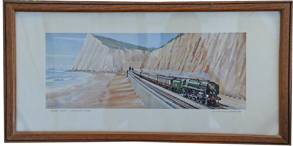 Carriage Print 'Golden Arrow - Continental