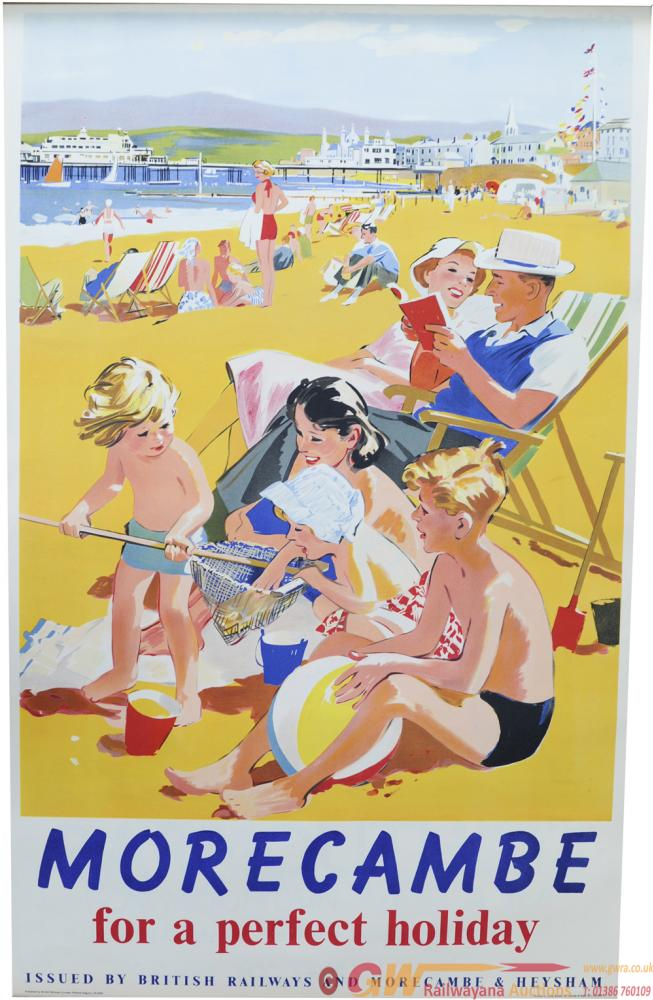 BR Poster, Morecambe - For A Perfect Holiday,