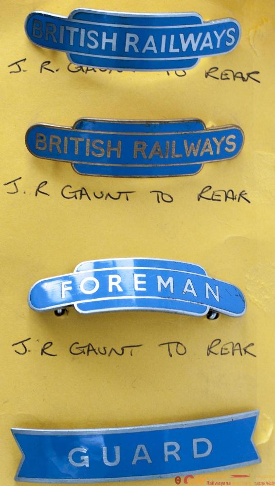 British Railways Scottish Region Capbadges