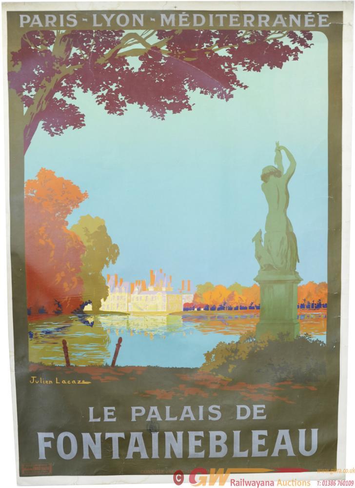 Paris - Lyon - Mediterranee Poster, Le Palais De