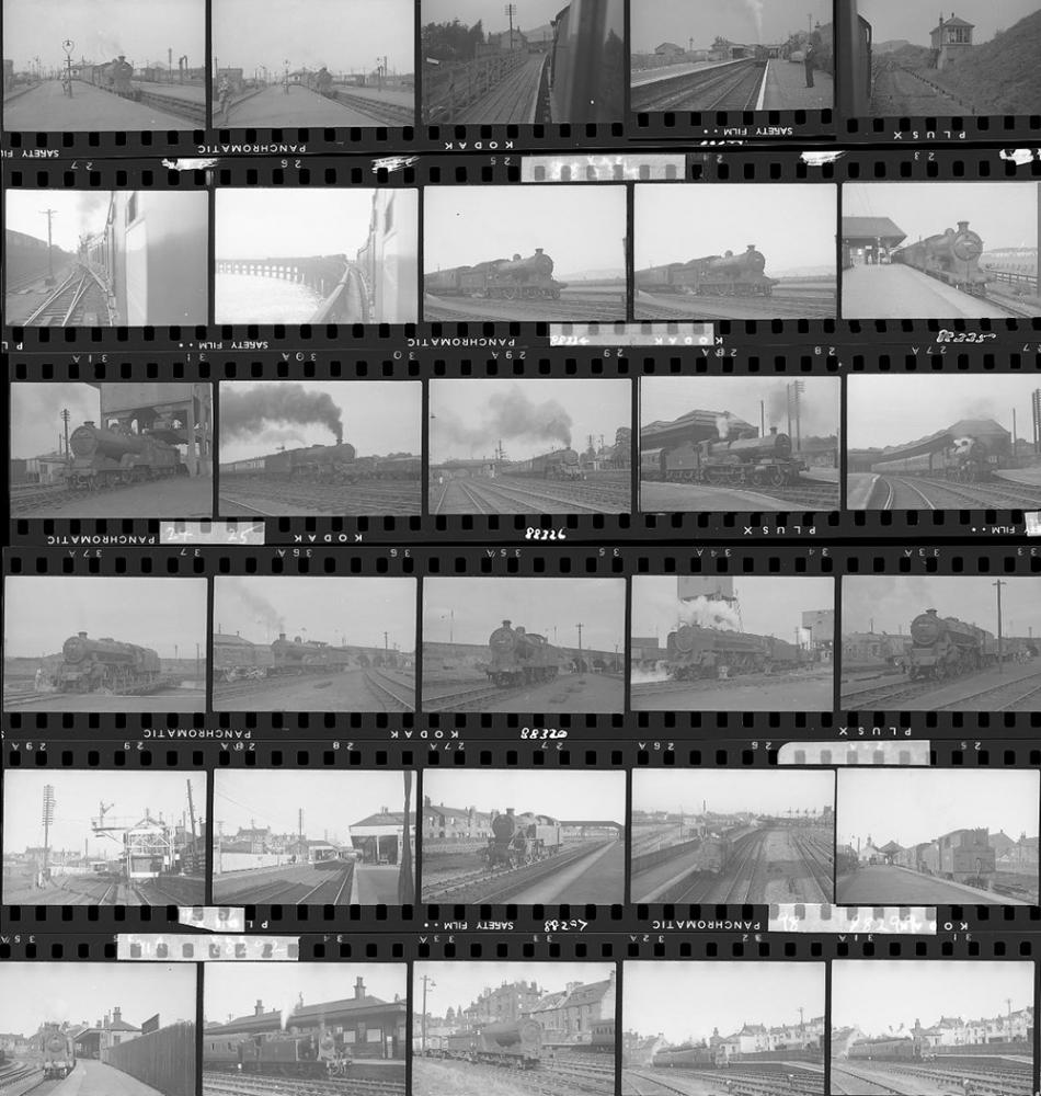 Approximately 77, 35mm Negatives. Scotland To