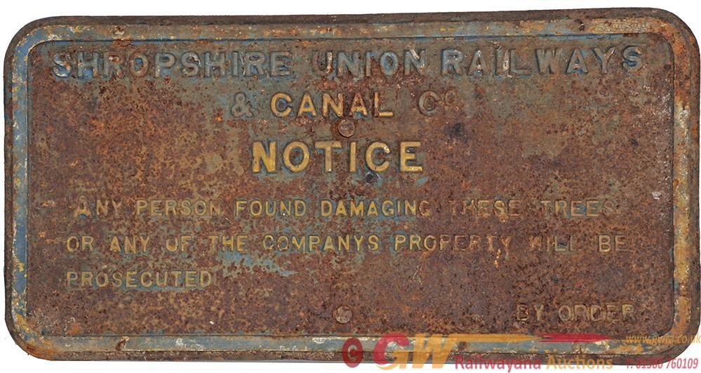 Shropshire Union Railways & Canal Co, Fully Titled