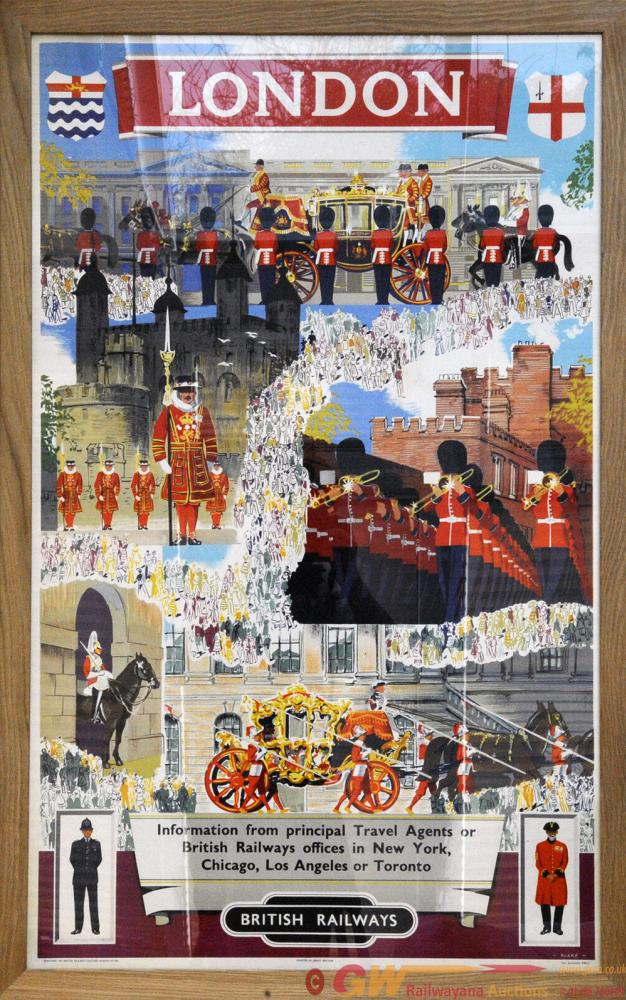 Poster British Railways 'London - See Britain By
