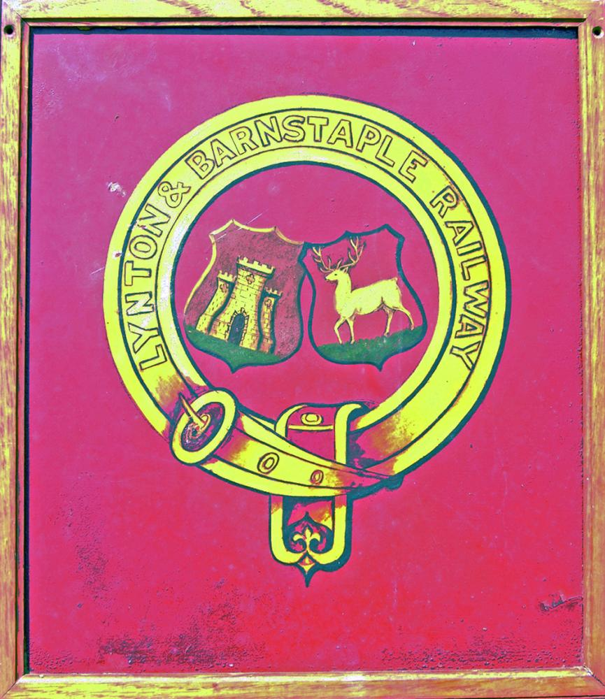 Lynton & Barnstaple Railway Original Coat Of Arms