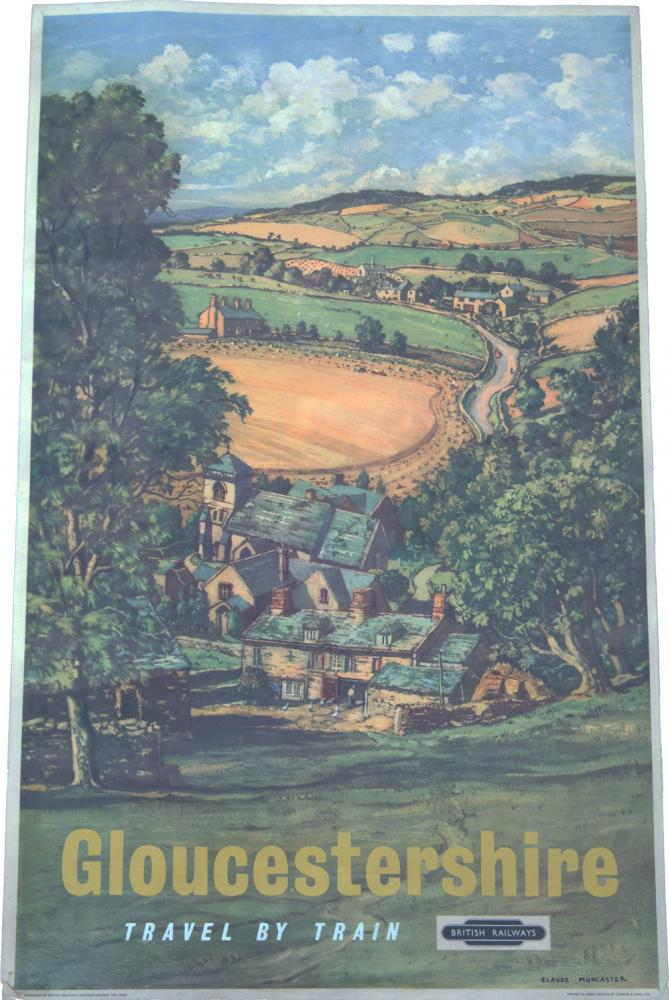 Poster, GLOUCESTERSHIRE By Muncaster