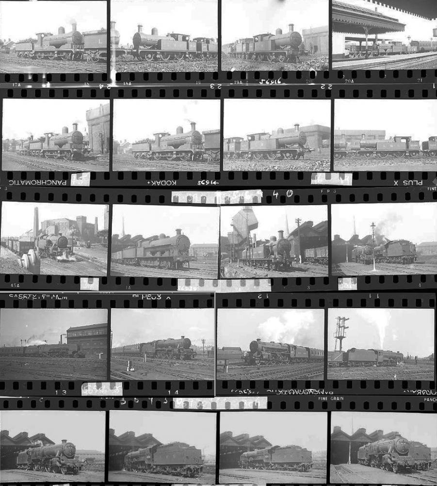 Approximately 75, 35mm Negatives. Includes Preston
