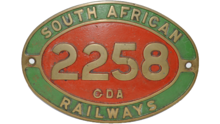 Collectable Antique Railwayana Auction World Records - GW Railwayana - 2258 South African Cabside