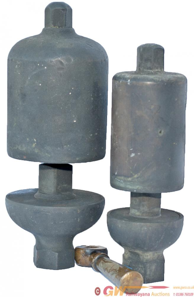 GWR Locomotive Whistles, Large And Small, Together
