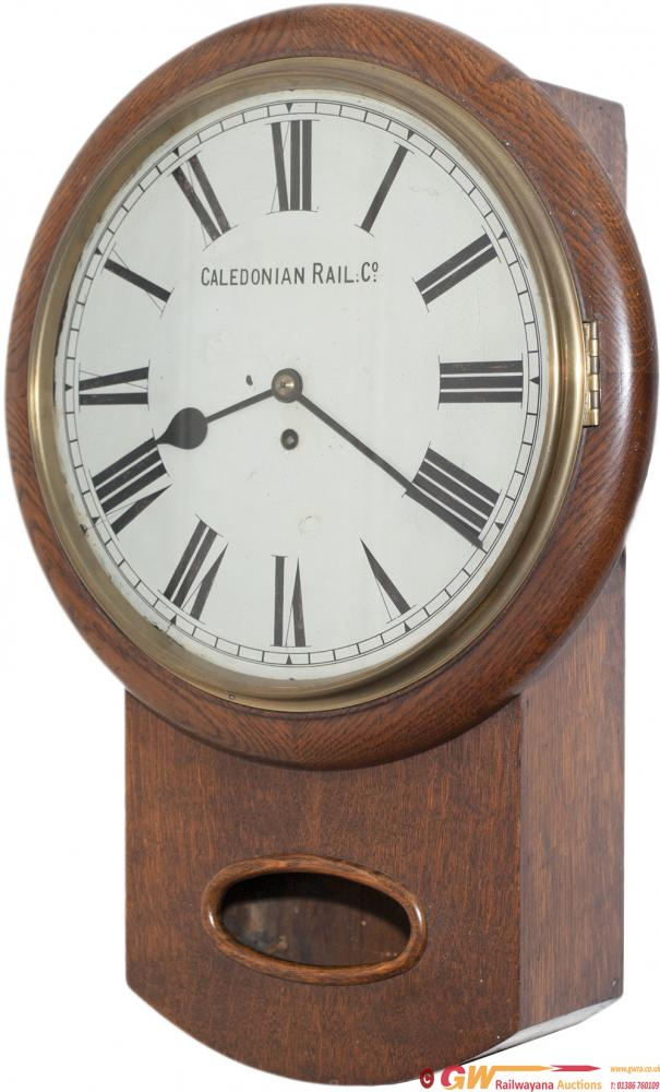 Caledonian Railway 13 Oak Cased English Style