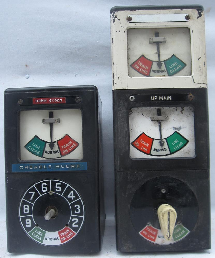 A Pair Of Incomplete BR Penguin Block Instruments.