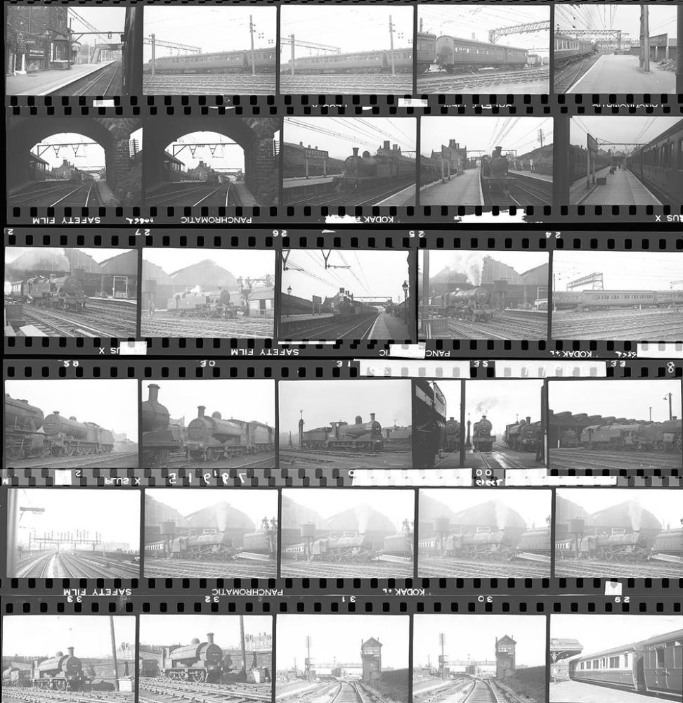 Approximately 85, 35mm Negatives. Includes