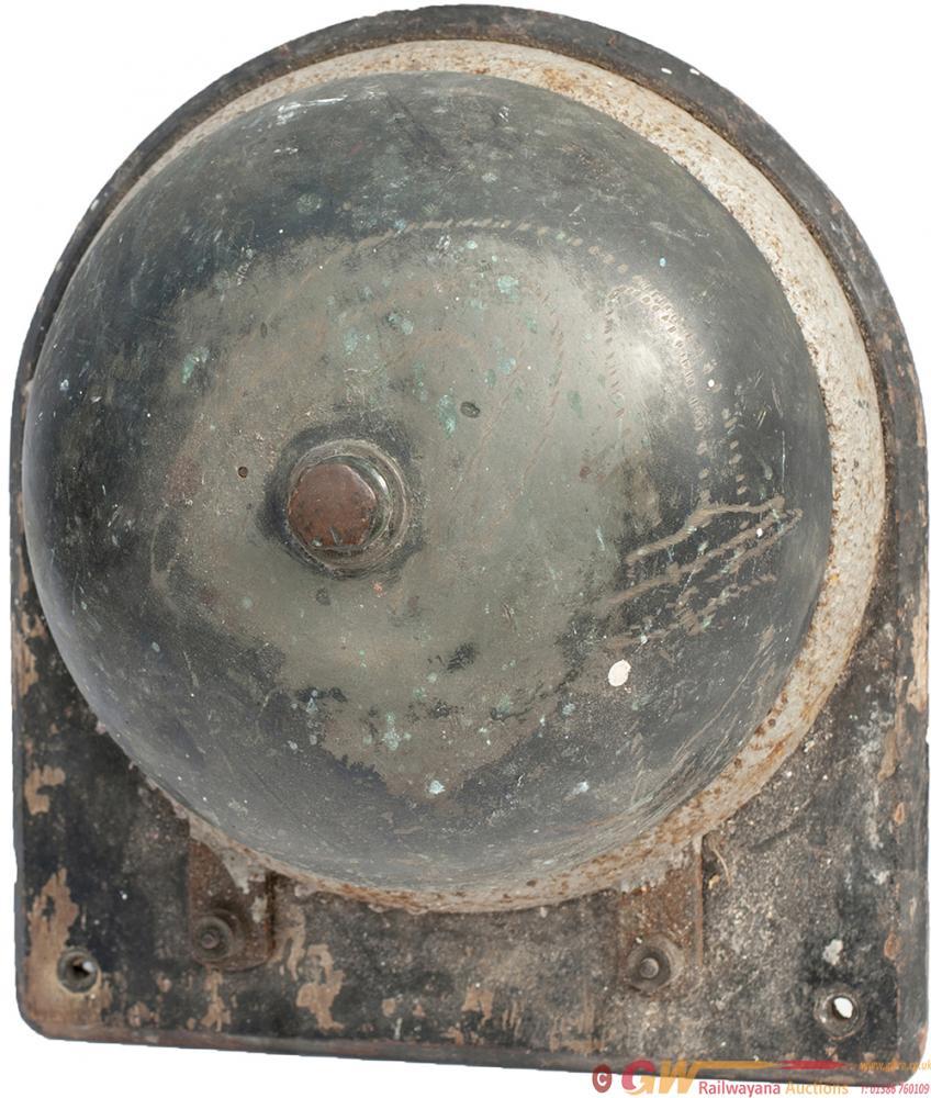 GWR Platform Train Announcing Brass Electric Bell,