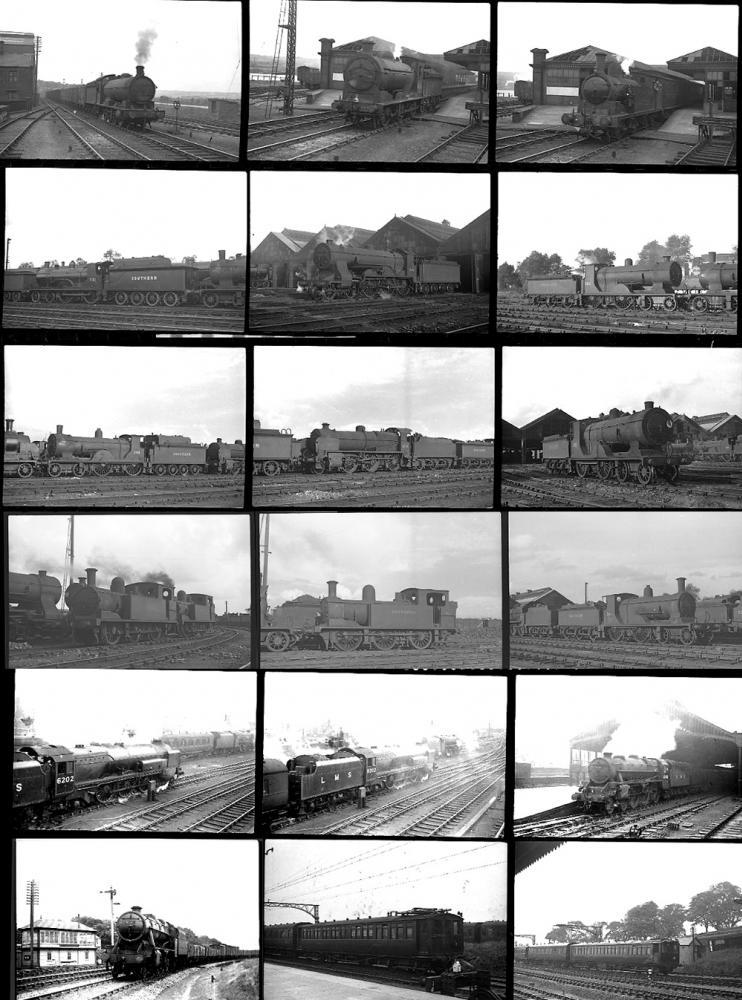 Approximately 100 35mm Negatives. Taken In 1947