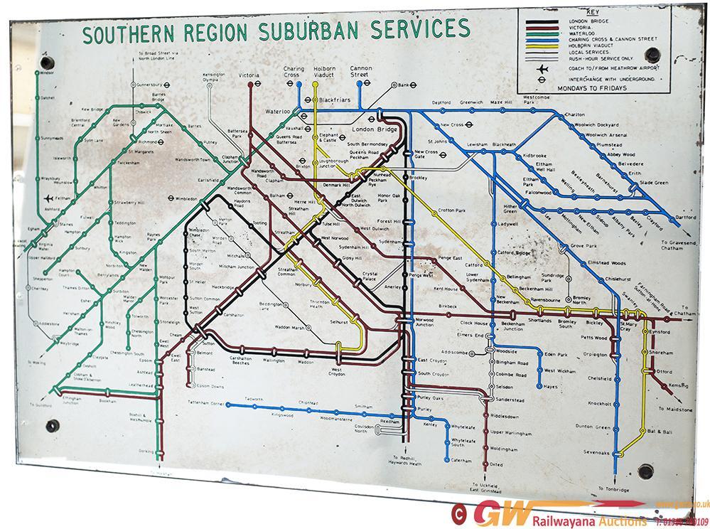 BR(S) Suburban Services Mirror British Railways