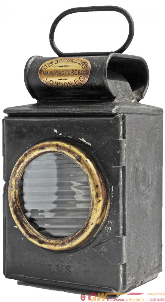 Small LMS Road Lamp Bearing A Brass Plate Geo Grou