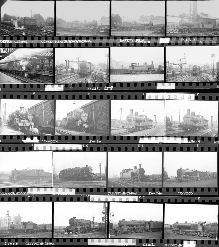 Approximately 130, 35mm Negatives. Includes Leeds,