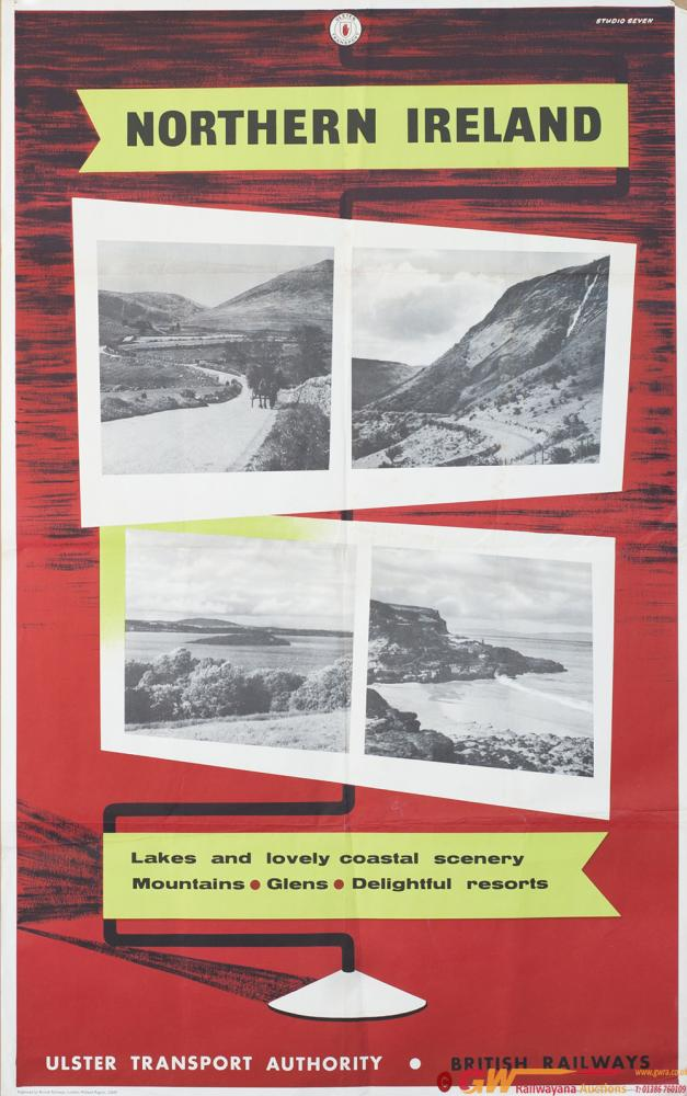 Poster BR/UTA NORTHERN IRELAND LAKES AND LOVELY