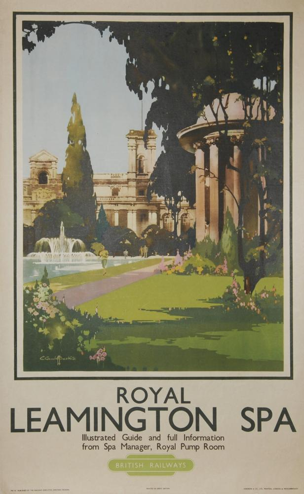 Poster BR(W) 'Royal Leamington Spa' By Claude