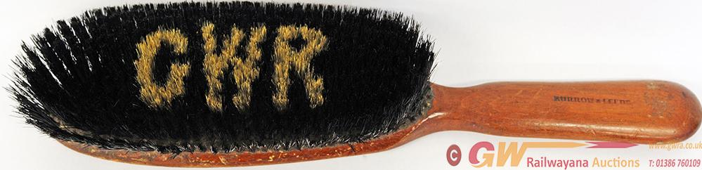 GWR Wooden Clothes Brush With GWR Picked Out In