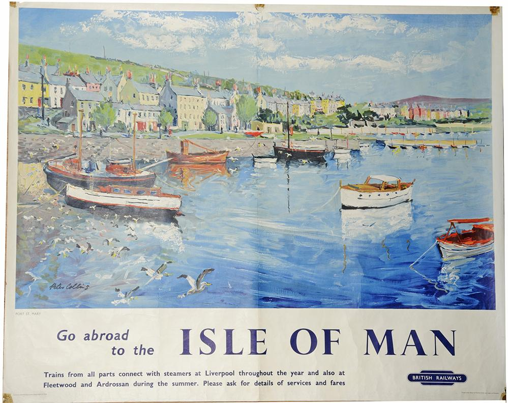 Poster, British Railways 'Go Abroad To The Isle Of