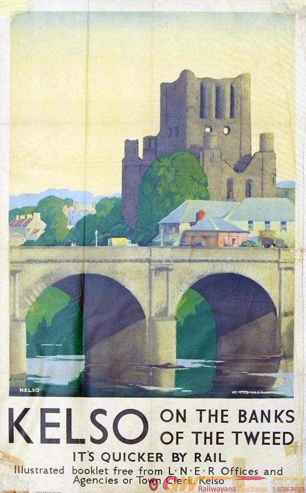 Poster, LNER D/R Size 'Kelso On The Banks Of The