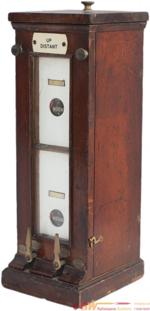 GWR Mahogany Cased Double Slot / Signal  Repeater