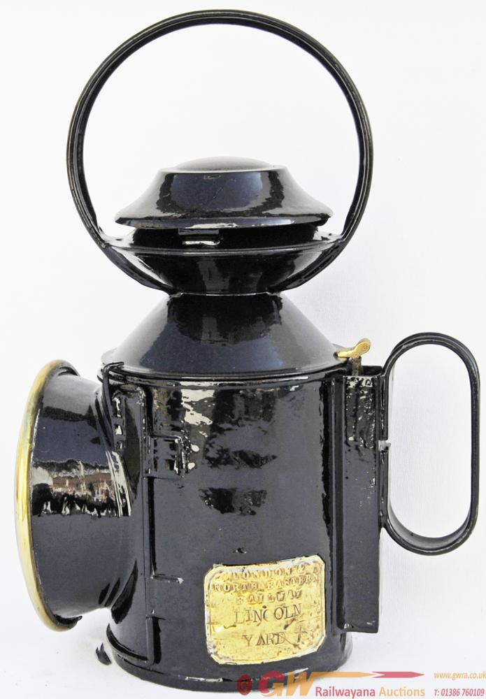 LNER Saucer-Top Handlamps Qty 2 Comprising:- One