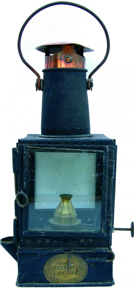 Letterkenny Railway Gate Crossing Lamp Interior