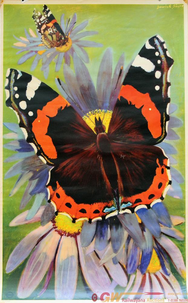 Poster London Transport 'Butterfly' By Derek