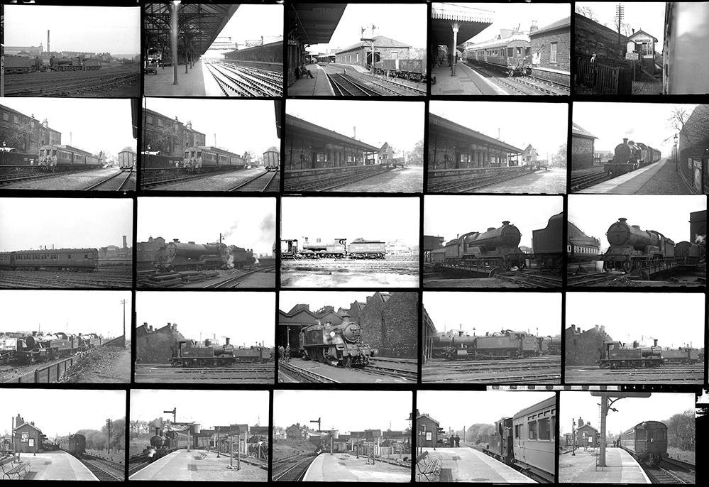 Approximately 60 35mm Negatives. Taken In 1954