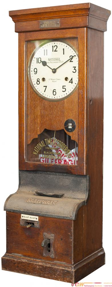 LMS Clocking In / Out Time Recorder. The Original