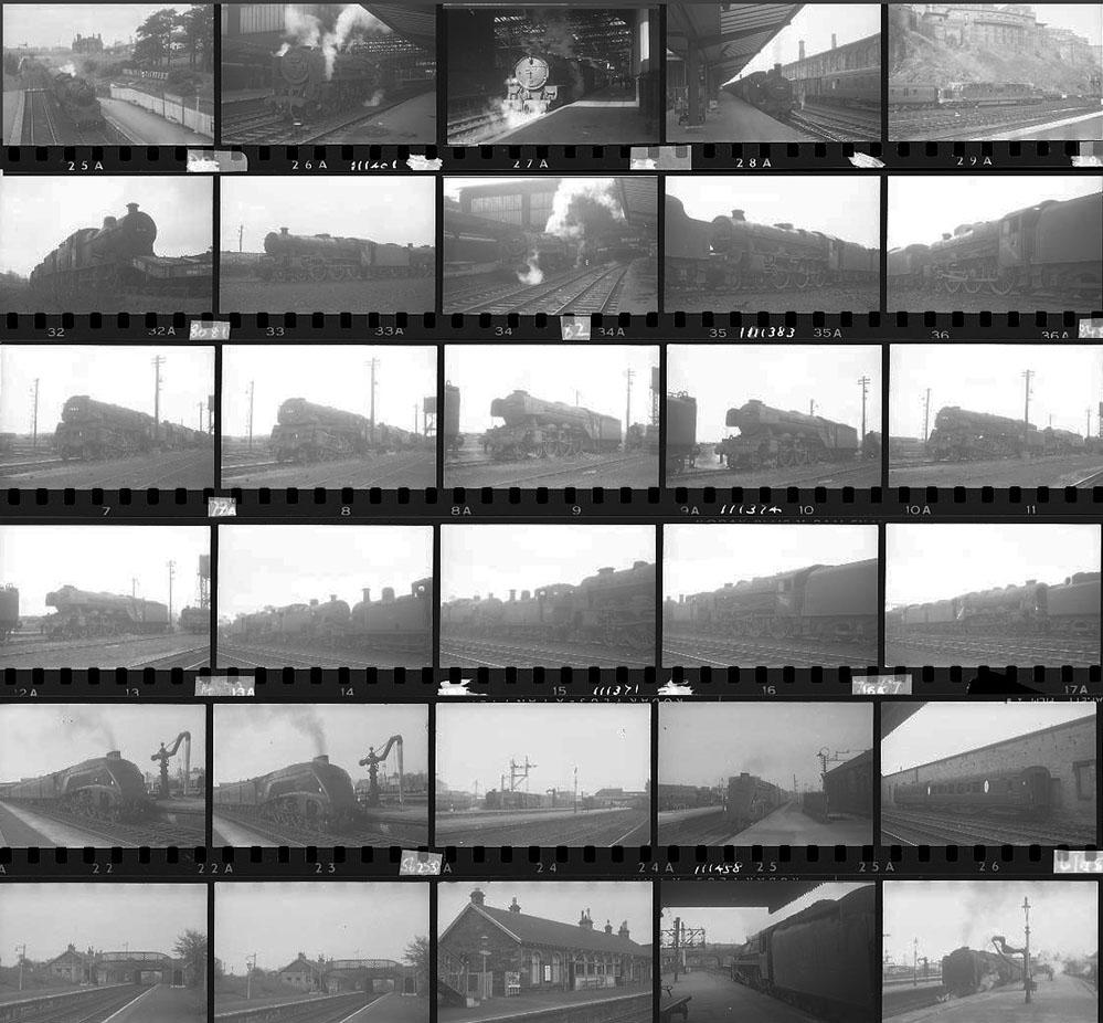 Approximately 135, 35mm Negatives. Scotland To