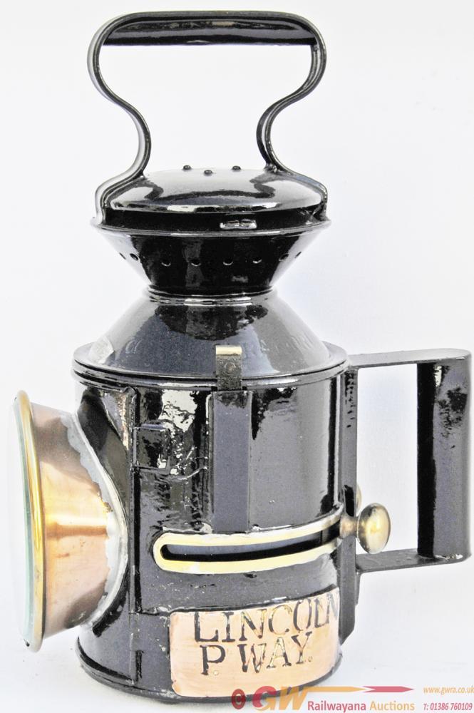 LNER GER Pattern Sliding-Knob Handlamp Brass