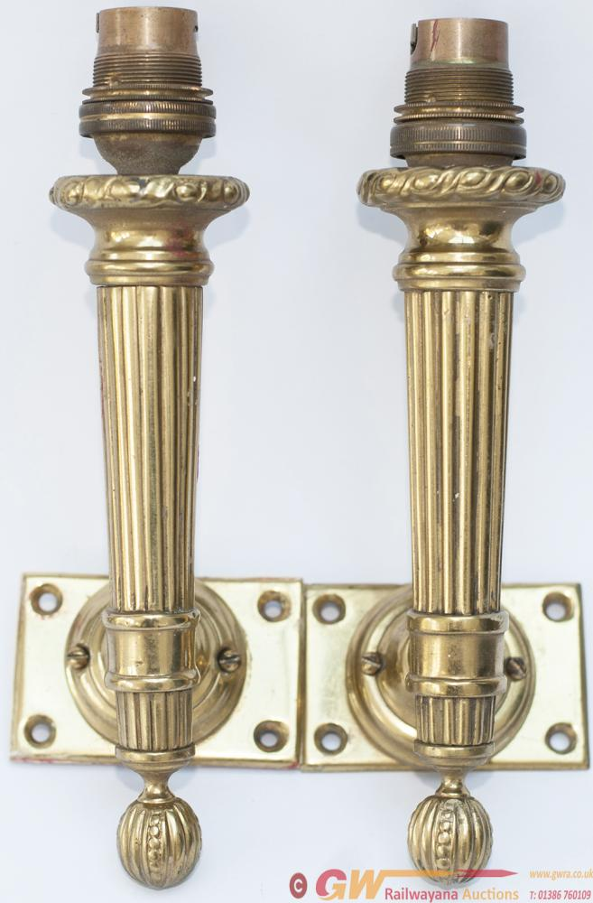 Pullman Carriage Lamps, An Identical Pair Of 1st