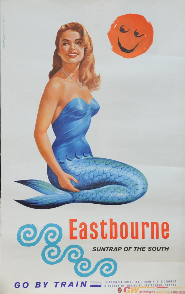 Poster BR(S) 'Eastbourne' By Kenneth