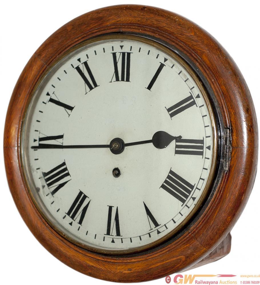 North Eastern Railway 10in Oak Cased Railway Clock