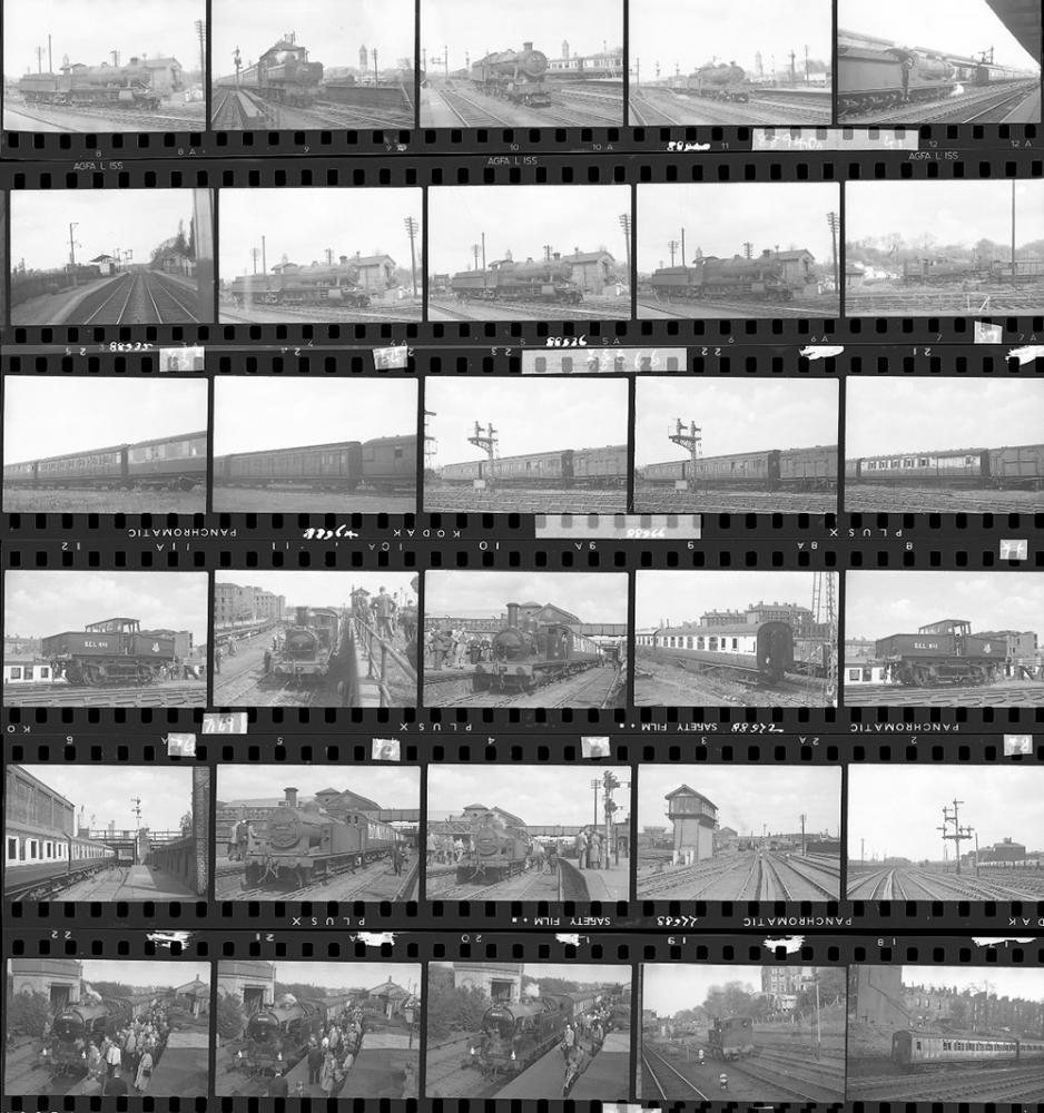 Approximately 75, 35mm Negatives. Includes Verney