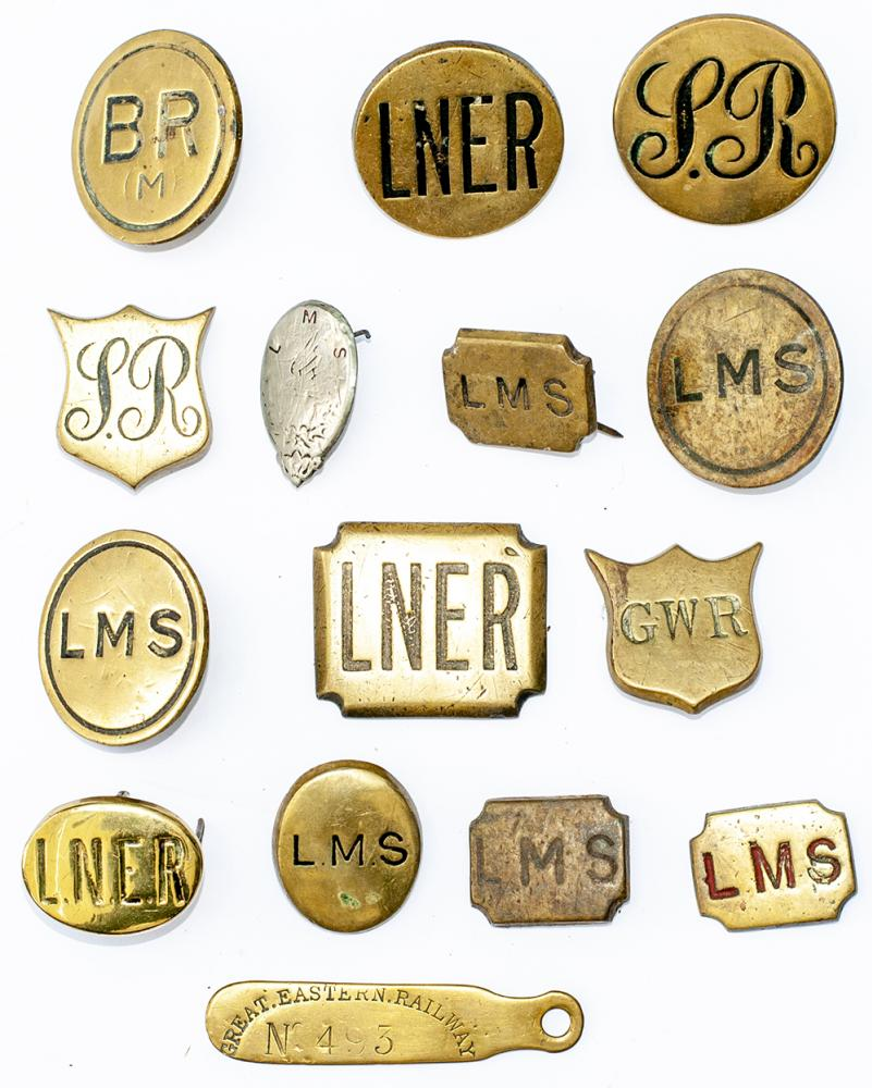 Railway Horse Brasses x14 To Include; LNER, GWR,