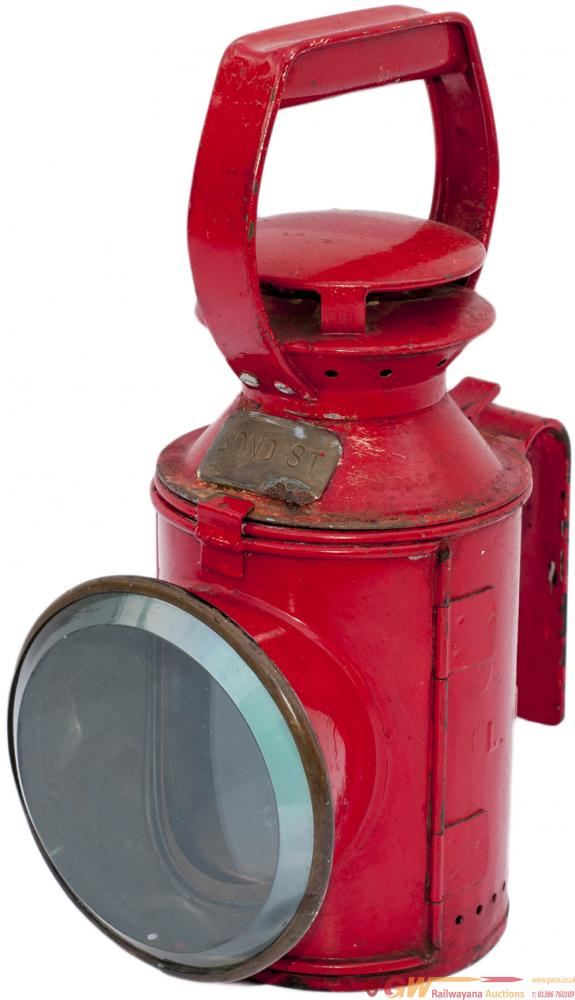 LT 3 Aspect Handlamp Embossed In The Side L.T. And