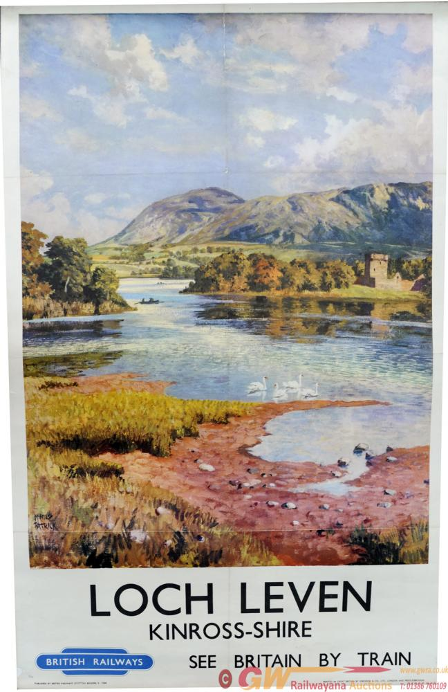 BR Poster 'Loch Leven - Kinrosshire' By McIntosh