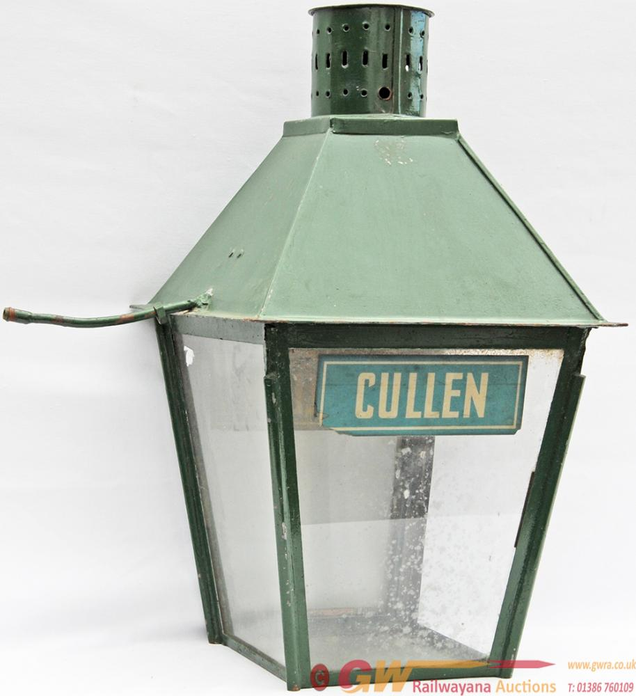 Great North Of Scotland Platform Lamp CULLEN. The