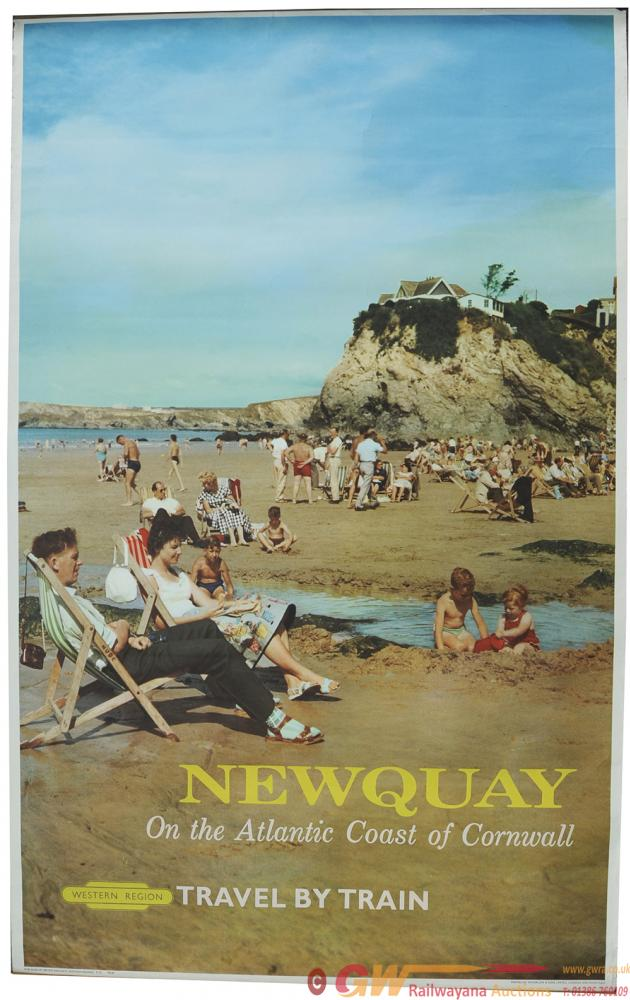 Poster BR Photographic Style 'Newquay On The