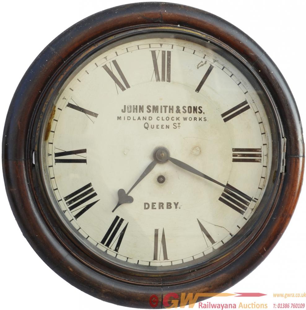 Midland Railway 12 Fusee Clock Bearing The Name