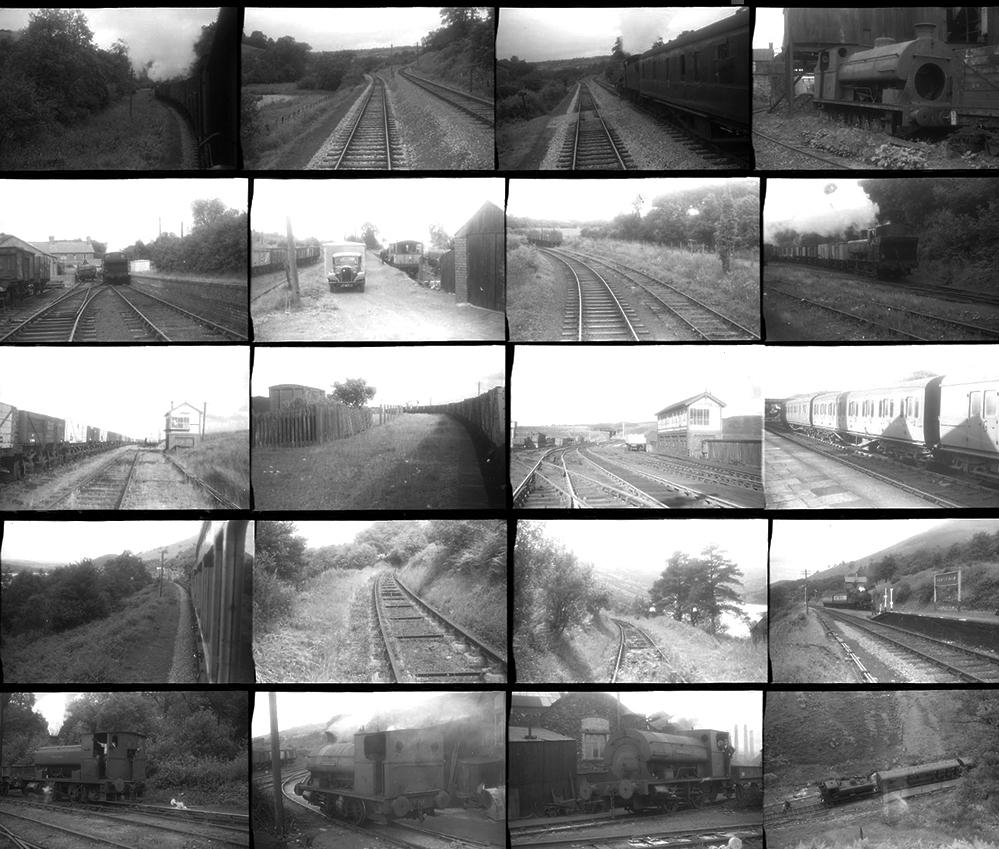 Approximately 87 35mm Negatives. Taken In 1958