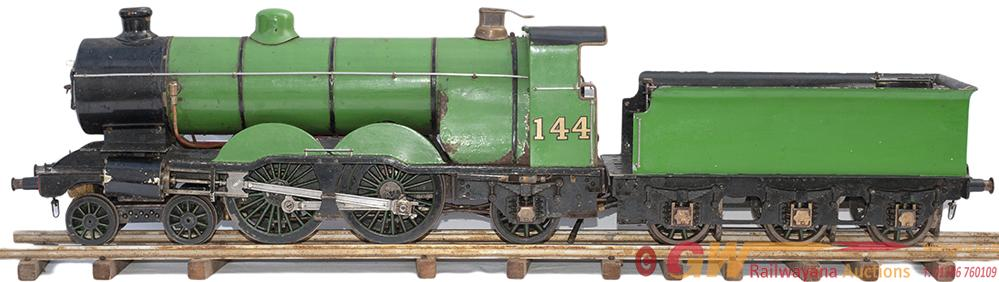 Live Steam 3.5in Gauge Model Of A Great Northern