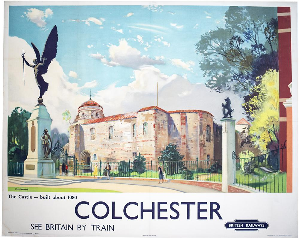 Poster BR(E) COLCHESTER THE CASTLE By Jack