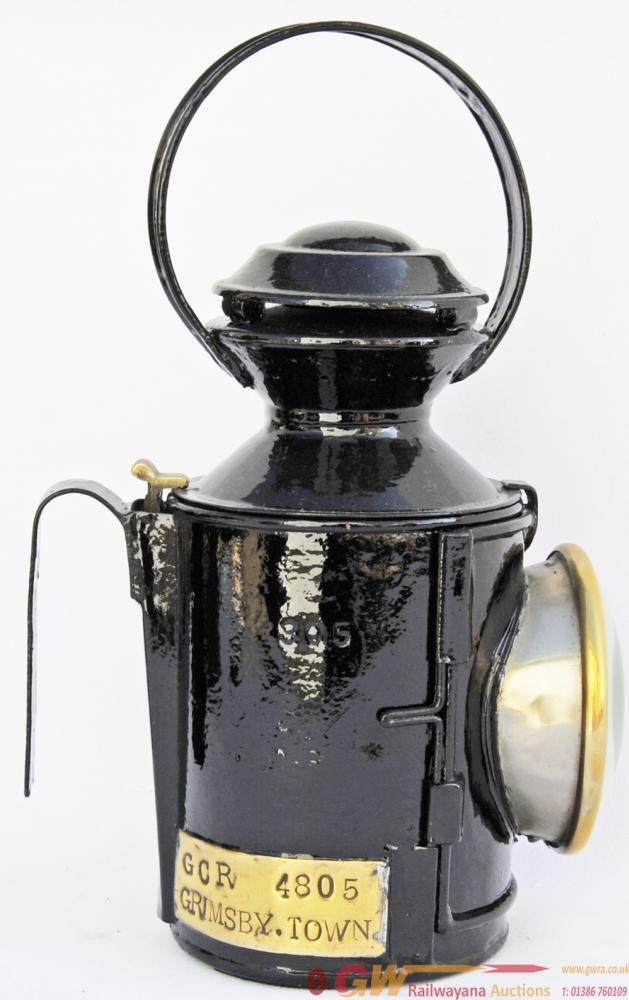GCR Handlamp Number 4805 With Brass Plate GRIMSBY