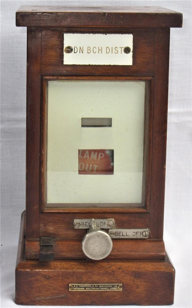 BR(W) Lamp Repeater Made By RE Thompson